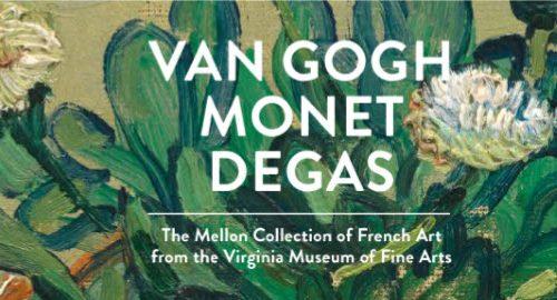 Van Gogh, Monet e Degas  domenica 10 e 17 novembre 2019 (posti esauriti)