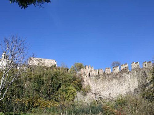 Segnalazione: MONSELICE: Allarme crollo mura Medievali.
