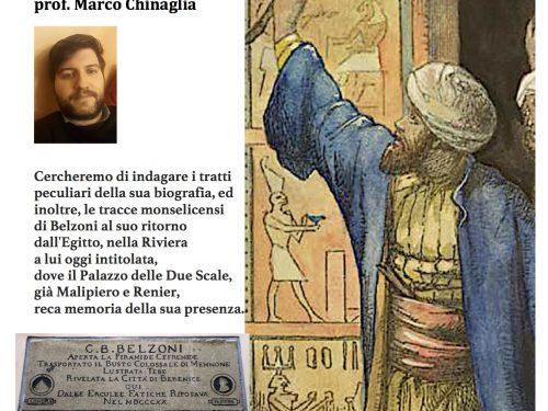 Giovan Battista Belzoni segreto – 11 gennaio 2020